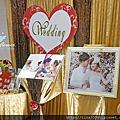 Tina flower婚禮佈置~香江匯婚禮佈置-金色系主題佈置