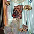 Tina flower婚禮佈置~大園老船長餐廳婚禮佈置-TIFFANY色系佈置