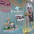 Tina flower婚禮佈置~桃園市農會活動中心佈置-Tiffany婚禮佈置