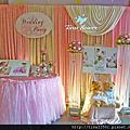 Tina flower婚禮佈置~鶯歌上豪味餐廳婚禮佈置-粉紅色系