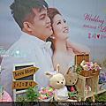 Tina flower婚禮佈置~大溪香滿園庭園餐廳婚禮佈置-婚紗背板設計