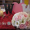 Tina flower婚禮佈置~中原大學瑞麗堂教堂婚禮佈置