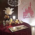 Tina flower蒂娜花藝場地佈置~桃園住都大飯店婚禮佈置-城堡背板設計