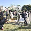Tina flower蒂娜花藝場地佈置~大園戶外證婚婚禮佈置