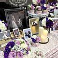 Tina flower蒂娜花藝場地佈置~龍潭小橋流水庭園餐廳婚禮佈置-經典背板佈置