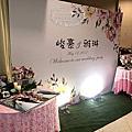 Tina Fower蒂娜花藝場地佈置~新屋香廚庭園餐廳婚禮佈置-經典背板佈置