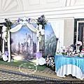 Tina flower蒂娜花藝場地佈置~楊梅揚昇高爾夫球場婚禮佈置-童話風佈置