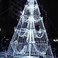 ღ20171216ღ柳川水中聖誕樹