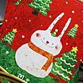 【20121203 聖誕兔子雪人 實體卡】