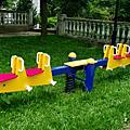 兒童遊戲設備全新登場