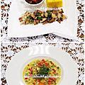 08 OCT_勃艮第式紅酒燉牛肉&番紅花味燴貽貝