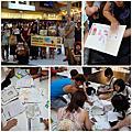 筱薇老師在台北的英文快閃教室