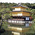日本賞楓之金閣寺