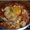 廚娘紀錄。韓式豆腐辣湯鍋