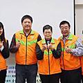 臺北市各界慶祝105年青年節 「寒冬義賣送愛心 暖心你和我」