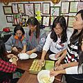 1050122 救國團台北市南港區團委會1月份工作月會.慶生聯誼暨技藝研習-淨斯綠豆糕製作