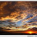 NO084:南瑪都颱風前夕。內海海堤觀夕陽