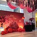 【花藝佈置】紅色燈籠中國風|維多麗亞酒店