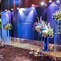 【花藝佈置】deep blue 深藍時尚