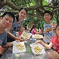1080818桃園三奇蜜蜂生態農場&大園國防砲陣地運動公園