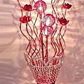 藝術裝飾花瓶落地燈