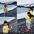 花蓮day4-台11線,噶瑪蘭海鮮餐廳,大灣遊憩區,石雨傘,三仙台