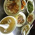 和恕榕去龍山寺周邊吃飯 2009.04.25