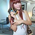 2012台北國際電腦展:各廠商辣妹叫靚!辣妹活力吸睛成「嬌」點!【圖+影】