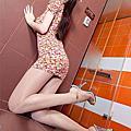 台灣漂亮林瑞瑜有台灣第一美腿模特之稱。