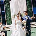 [婚攝] Roman & Christine 戶外證婚 台北萬豪酒店