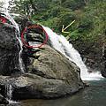 雲森瀑布之森山瀑布、姐妹瀑布