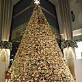 台北101聖誕樹.信義誠品樂高聖誕樹.東方文華酒店聖誕樹