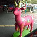 201504台南火車站熊熊樂團