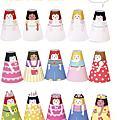Cone Girls 圓錐紙娃娃