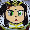 小阿姨的生日蛋糕~~