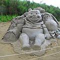 20140607台南馬沙溝一見雙雕【鹽雕、沙雕】之沙雕