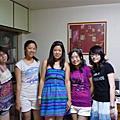 20090808-9sleepover party@潔思家