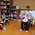 2013/6 插角國小(附幼)非洲鼓上課記錄