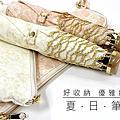 《夏日筆袋》☆極致輕量晴雨手開折傘 ☆ $590