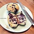 爆漿藍莓馬芬