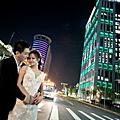 [婚紗照]夜景