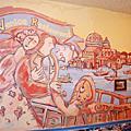 台北民生東路 威尼斯義大利餐廳壁畫