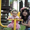 【親子の写真】一歲的雞腿妹