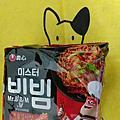 農心拌先生泡菜乾麵&韓式炸雞風味乾麵
