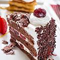 經典不敗的黑森林蛋糕