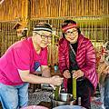 東岳多必優部落體驗之旅。瓏山林飯店館外活動