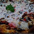鄉野田園素食純素披薩