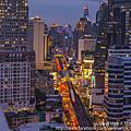 Holiday Inn Bangkok Sukhumvit酒店 看盡城市美麗景色