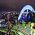 《Red Sky》位於55樓的高空酒吧 照亮曼谷夜空的彩虹