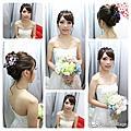 日式新娘造型  素人改造